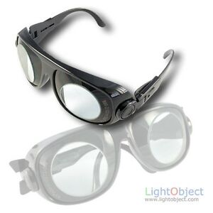 980nm 2100nm Laser Eyes Protection Glasses goggle Ce Certified