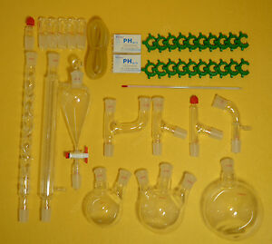 Lab Glassware Kit organic Chemistry Lab Glassware Kit 24 29 28pcs