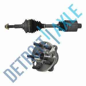 New Wheel Hub Assembly Front Left Axle Shaft 4 Speed Automatic Transmission