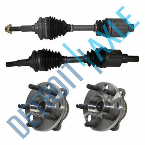 New Wheel Hub Assemblies Front Left Right Axle Shaft 4spd Auto Trans