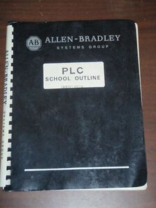 Allen bradley Plc School Outline Condensed Version 1978 Training Manual