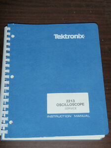 Tektronix Service Instruction Manual For 2213 Oscilloscope _ 070 3827 00 _ 1981