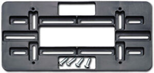 Universal Front Rear License Plate Holder Mount Tag Bracket For All Bumpers