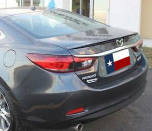 Fits Mazda 6 2014 Painted Factory Lip Style Rear Spoiler Made In The Usa