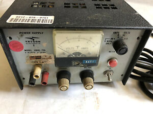 Used Trygon Hr40 750 Dc Power Supply 0 40 Volts