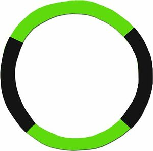 Lime Green Black Steering Wheel Cover Like Seat Covers Or Choose Colors