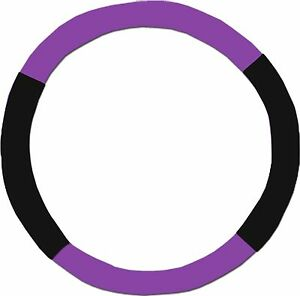 Purple Black Steering Wheel Cover Like Seat Covers Or Choose Colors