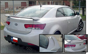 Fits Kia Forte Koup 2010 2013 Painted Custom Lighted Rear Spoiler Usa Made