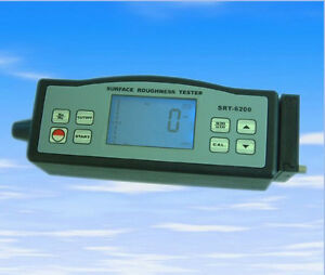 New Srt 6200 Digital Portable Surface Roughness Tester Meter Roughmeter Ra Rz ce