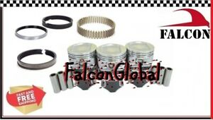 Jeep 4 0l 242 Sealed Power Hypereutectic Pistons moly Rings Kit 1996 06 040