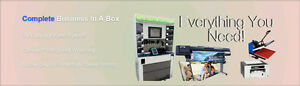 Ink Refill Canvas Printing And Mobile Device Cases Complete Business In A Box
