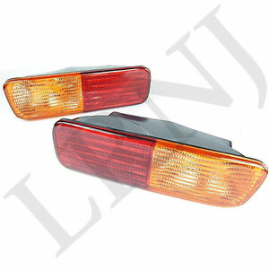 Land Rover Discovery 2 1999 2002 Rear Bumper Lights Set Xfb101490 Xfb101480