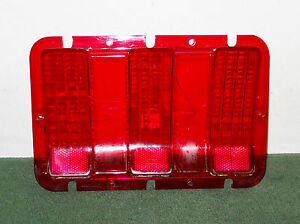 1967 1968 Mustang Fastback Coupe Convertible Gt Gt A Orig Rear Tail Light Lens