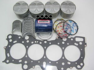 Jdm Civic Si Sir B16a Pistons Rings Bearings Kit Pr3