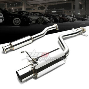 4 Muffler Tip Stainless Exhaust Catback System For 01 05 Altezza Is300 Xe10 3 0l