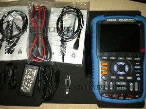 New Siglent Shs820 Digital Oscilloscope Scopemeter Multimeter 200mhz 32kpts
