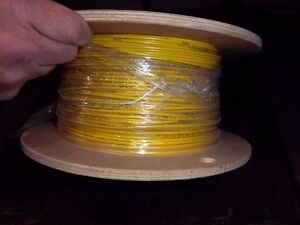 Alpha 3077 16awg 26 30 Tc 032 Pvc Ins Yellow Wire New Feet 100