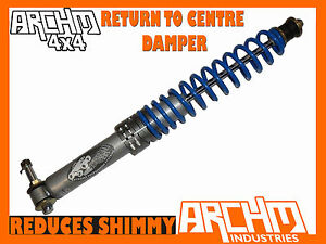 Toyota Landcruiser 80 100 105 Series Archm4x4 Return To Centre Steering Damper