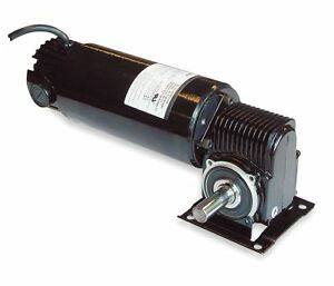Dayton Model 3xa78 Dc Gear Motor 180 Rpm 1 8 Hp Tenv 90vdc