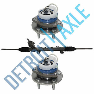 Complete Rack And Pinion Assembly 2 New Front Wheel Hub Assemblies For Impala