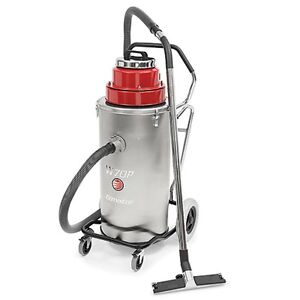 Ermator W70p Slurry Commercial Wet Vacuum W pump 15 Gallons