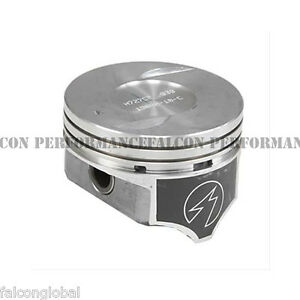Chevy 7 4 454 Speed Pro Hypereutectic Coated Skirt Pistons moly Rings 91 95 Std