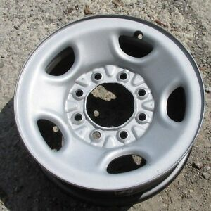 Chevy Gmc Truck Or Van 8 Lug 16 Steel Wheel Oem One Piece