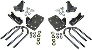 1949 54 Chevy Belair Fleetline Rear End Conversion Kit With Shock Mounts