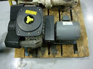 Atlas Copco Le6 S Air Compressor And Marathon Electric Motor