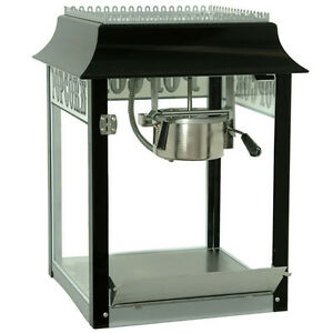 Paragon 1911 Style 4 Ounce Popcorn Machine black And Chrome Made In Usa