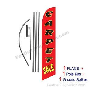 Carpet Sale 15 Feather Banner Swooper Flag Kit With Pole spike
