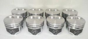 Speed Pro Chrysler Dodge 360 Hypereutectic Flat Top 2vr Pistons Moly Rings 30