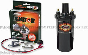Pertronix Ignitor Coil 1968 71 Ford V8 W Motorcraft Single Points Distributor