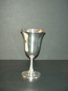 Wallace Sterling Silver Goblet Chalice 188 Grams
