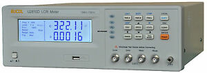 New U2810d Digital Lcr Meter Tester 100hz 120hz 1khz 10khz