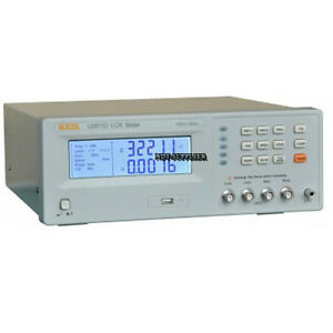 New U2811d Digital Lcr Meter Tester 100hz 120hz 1khz 10khz