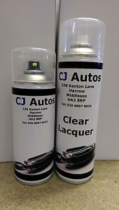 Spray Paint Clear Lacquer Aerosol Cans Custom Car Colour Code Matched Mixed