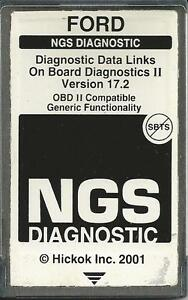 Ford Ngs Obd2 Diagnostic 1984 To 2001 Black Card