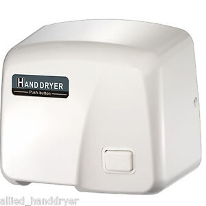 Fastdry 120v Push Button Hand Dryer With Free Wall plug