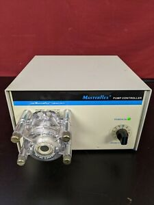 Cole Parmer Masterflex Peristaltic Pump 7553 50 With Head Variable Speed