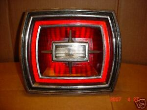 Vintage Antique 1966 Ford Rear Tail Light Assembly