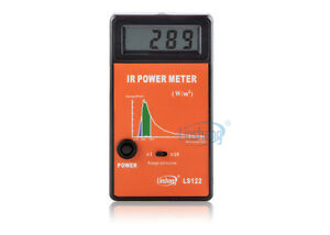 New Ls122 Ir Infrared Power Meter Tester Spectral Wavelength Power Meter