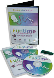 Brand New Software For Die Cutter vinyl Cutter Funtime Rhinestone Pro 2014