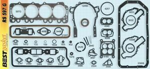 Buick 364 400 401 425 Nailhead Full Engine Gasket Set Kit Best Head Intake 57 66