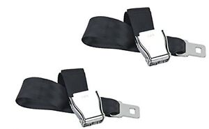Universal Airplane Seat Belt Extender 2 Pack Type A Free Case And Owner S Card