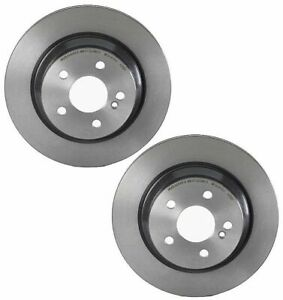 For Mercedes W204 W211 W215 Set Of 2 Disc Brake Rotors Brembo 09 A358 10