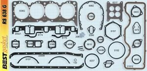 Chevy 409 Full Engine Gasket Set Best Head Intake Exhaust 1961 65 Except H P
