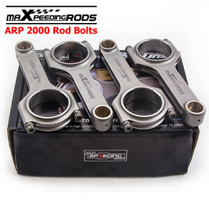 H beam Connecting Rods For Toyota Yaris Echo Vios Scion Xb 1nzfe 1 5l Conrods