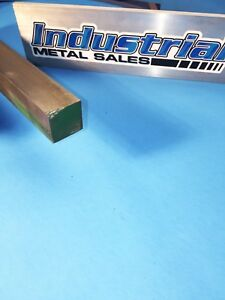 1 X 12 long 416 Stainless Steel Square Bar 1 416 Stainless Steel Square Bar