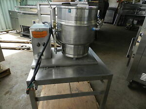 Groen Tdb 7 20 Electric Tilt Kettle Soap Soup Sauces Veggies Chowder Crea